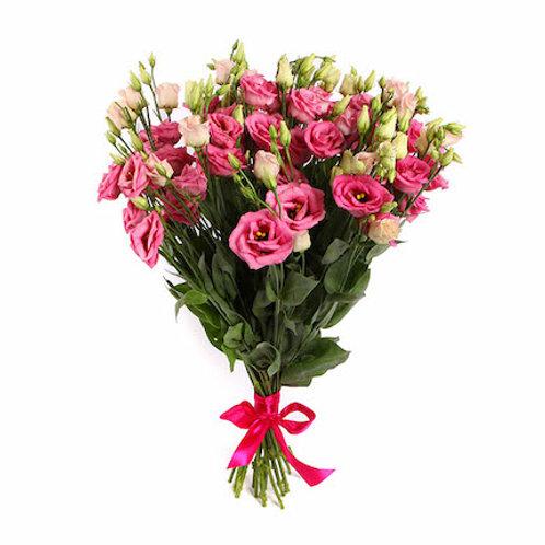 Розовая эустома (лизиантус) поштучно (от 1 шт.)