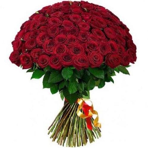 "101 роза премиум Эквадор ""Эксплорер"""