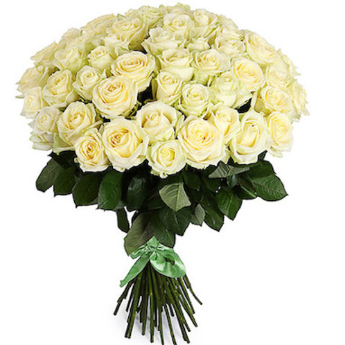 "Букет 51 роза ""Аваланж"""