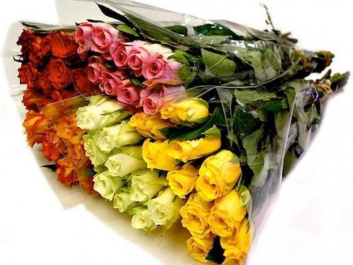 Розы Кения Микс (от 100 шт.)