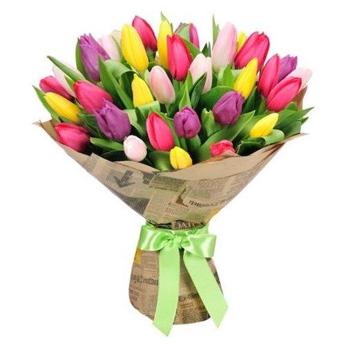 """25 тюльпанов """"Микс"""""""