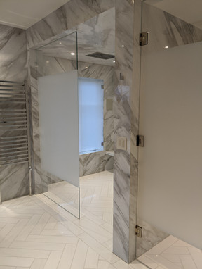 FROSTED SHOWER
