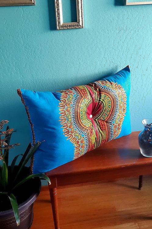 Africian Dashiki Pillow