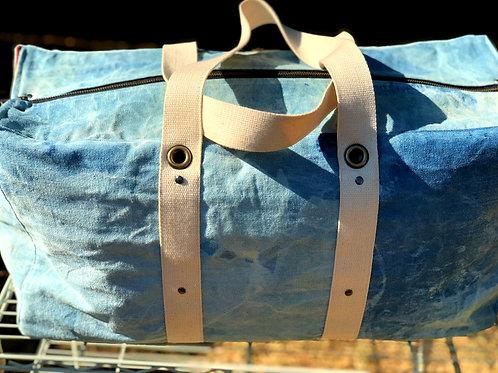 Denim Duffle Bag