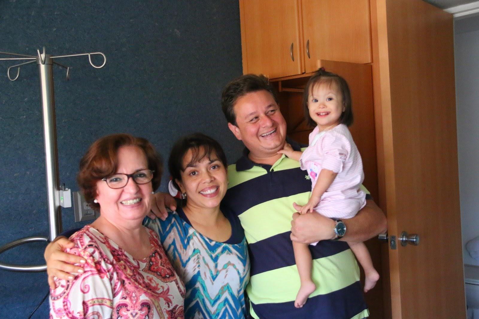 Con Delia  y mis papás