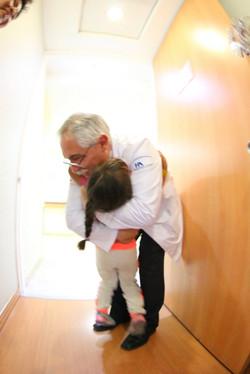 Con mi Dr. Lozano