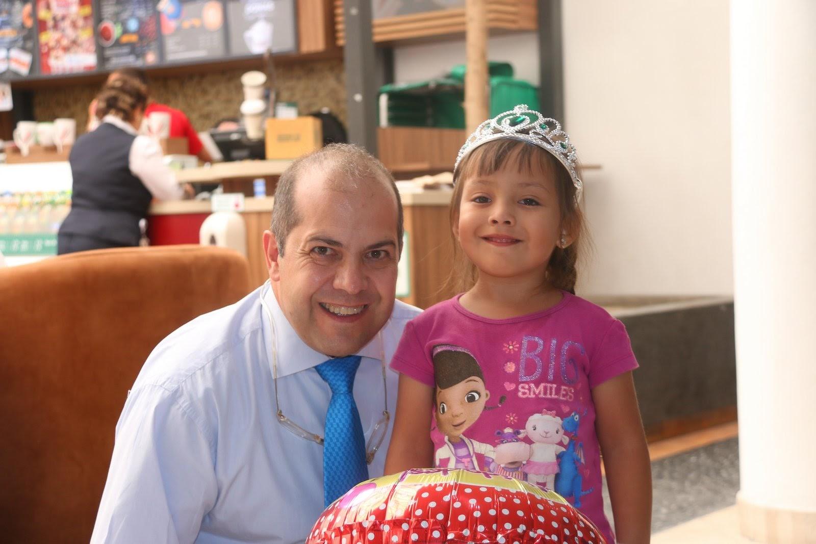 Con el Dr. De la Fuente