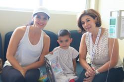 Con Marcela y Amparo