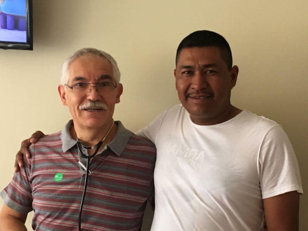 Mi papá y el Dr. Lozano