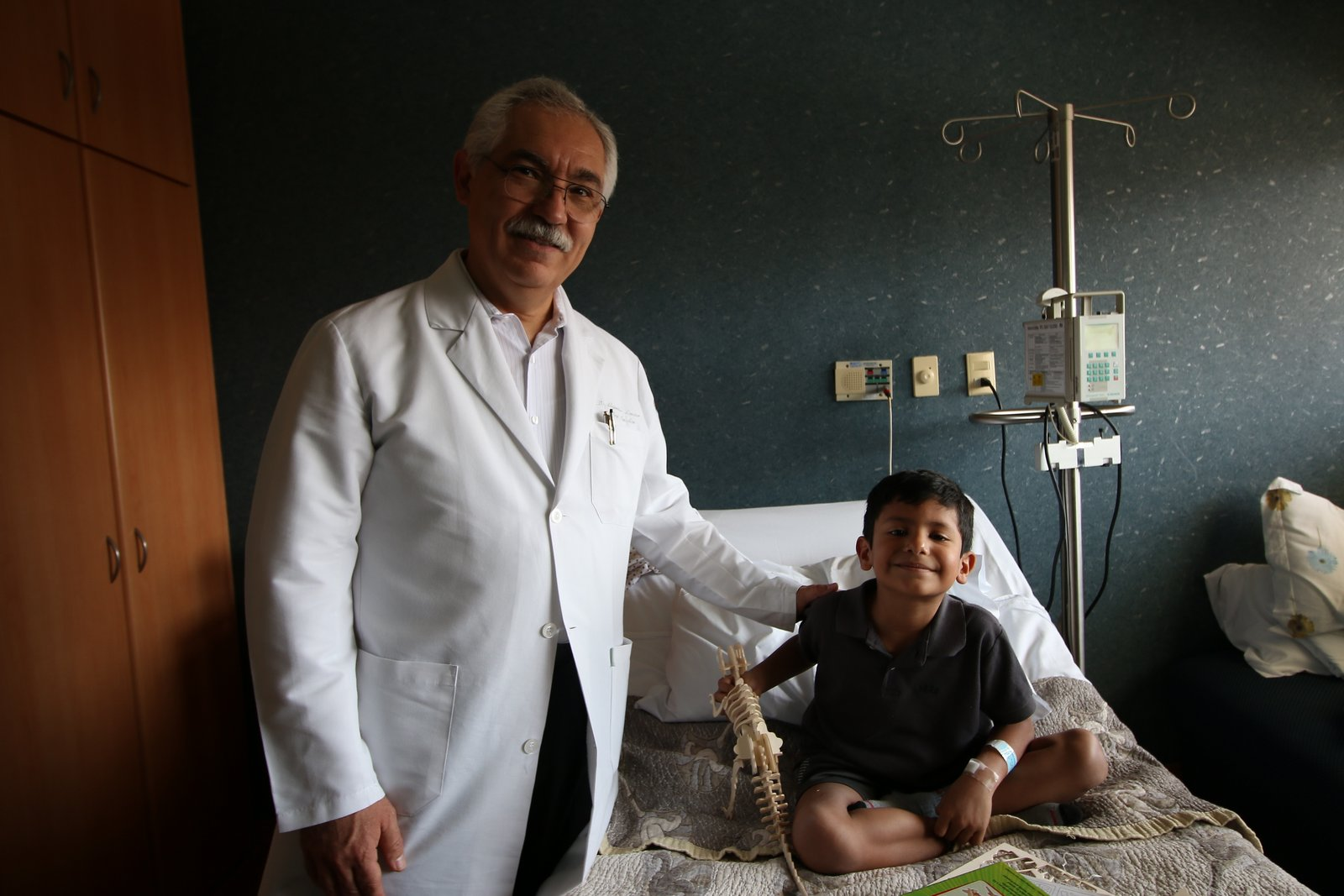 Con el Dr. Lozano