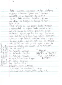 Carta papás Danna Paola