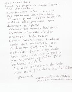 Carta papas Pablo