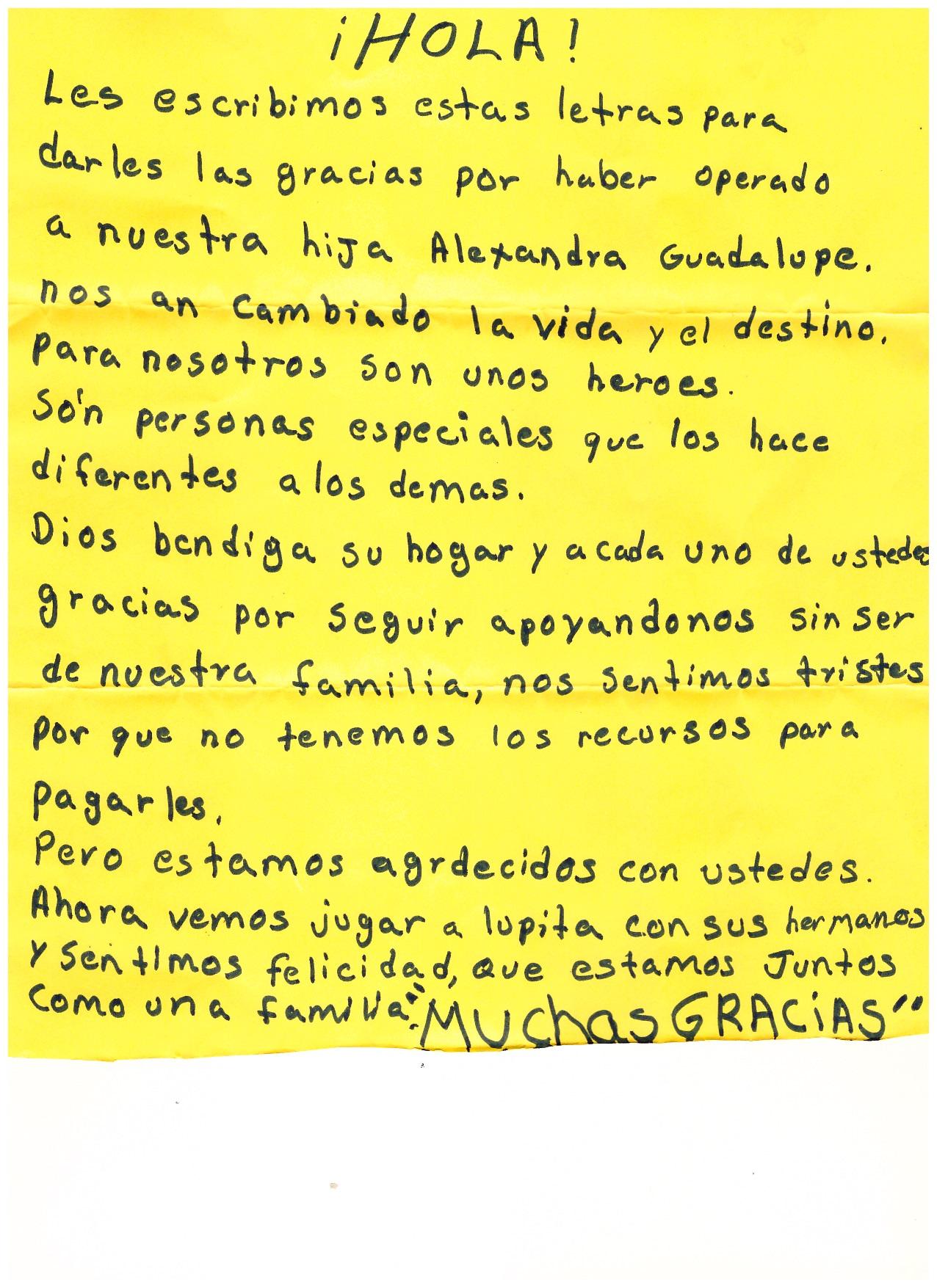 Carta Alexandra