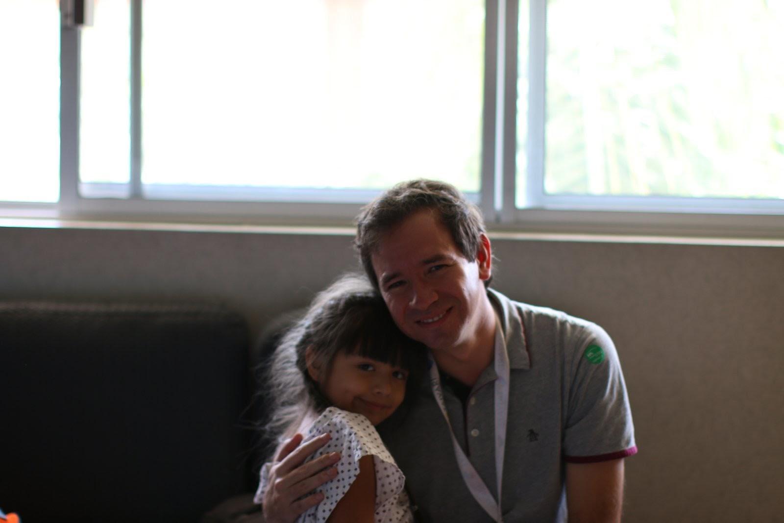 Con Adrián, mi fotógrafo