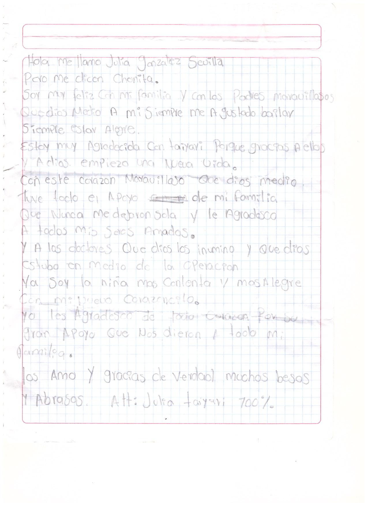 Carta Julia