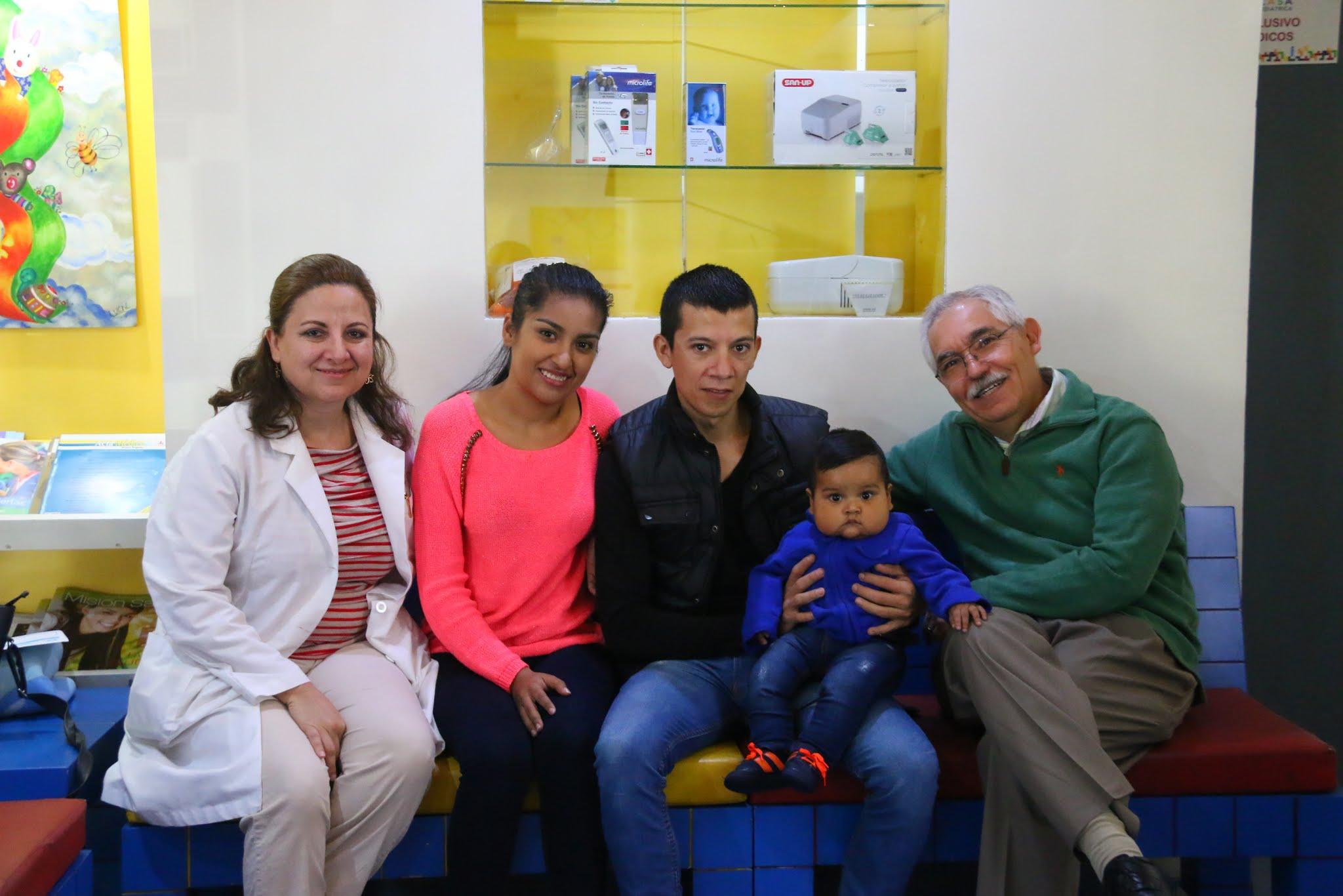 Con mis cardiólogos