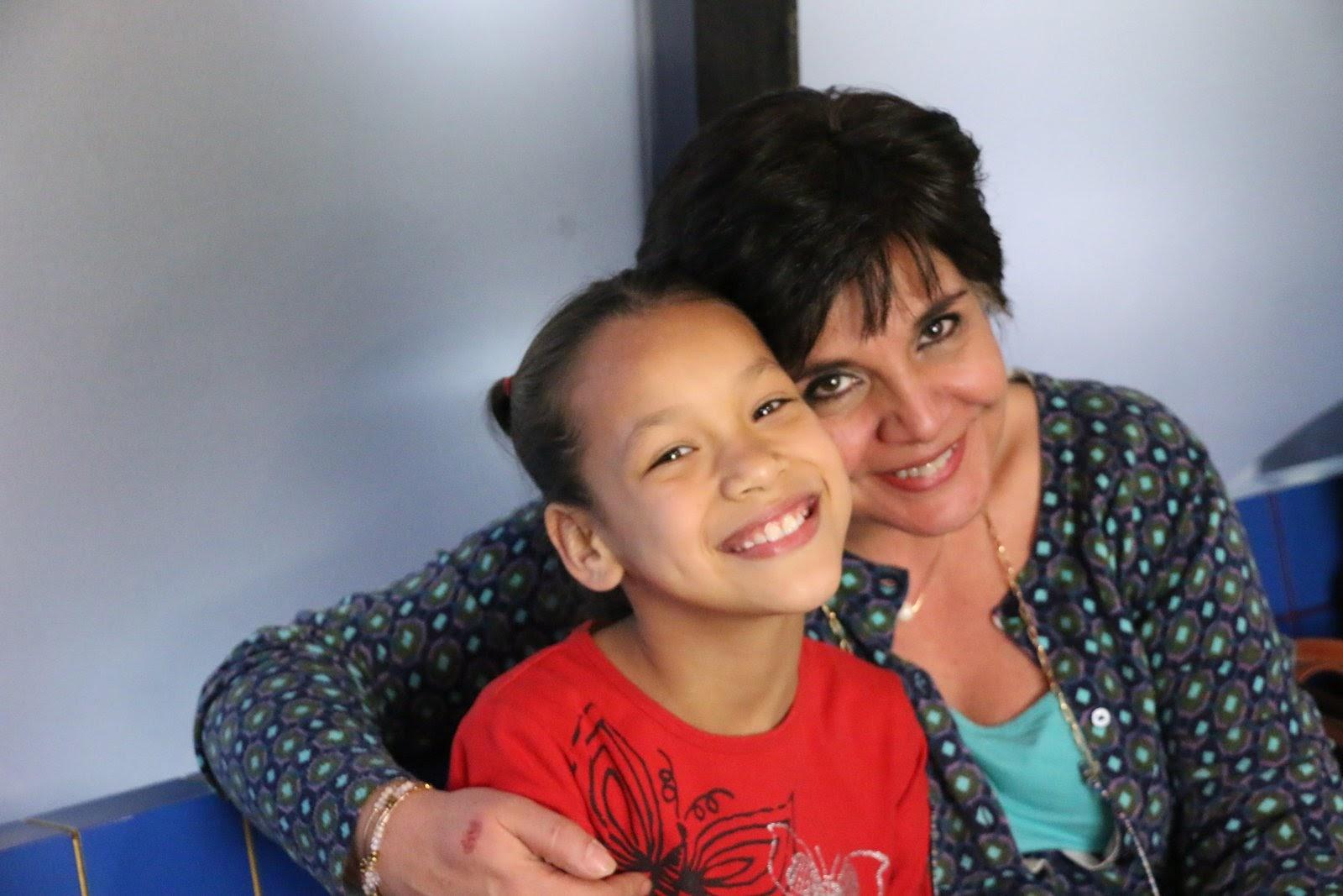 Con la Sra. Gaby Orozco