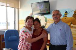 Ana Luisa, Ara y Dr. Lozano