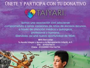 """Campaña de Redondeo Taiyari-Fundación Soriana """"¿Y tú, tienes corazón?"""""""