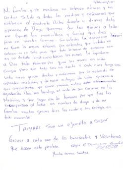 Carta papás Diego