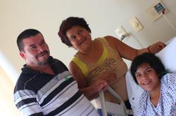 Con mis papás Salvador y Juanita