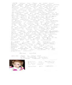 Carta papás de Itzel