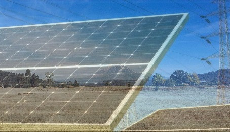Solar grid connect, pv-inverter efficiency, transformer, energy, and environment monitoring : PQube3