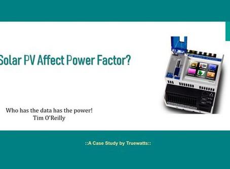 Solar PV มีผลต่อค่า Power Factor หรือไม่?