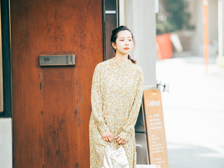 ファッション雑誌っぽい写真撮ってみた。