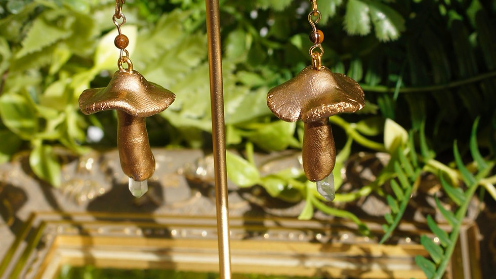 """""""Phthisis"""" Earrings"""