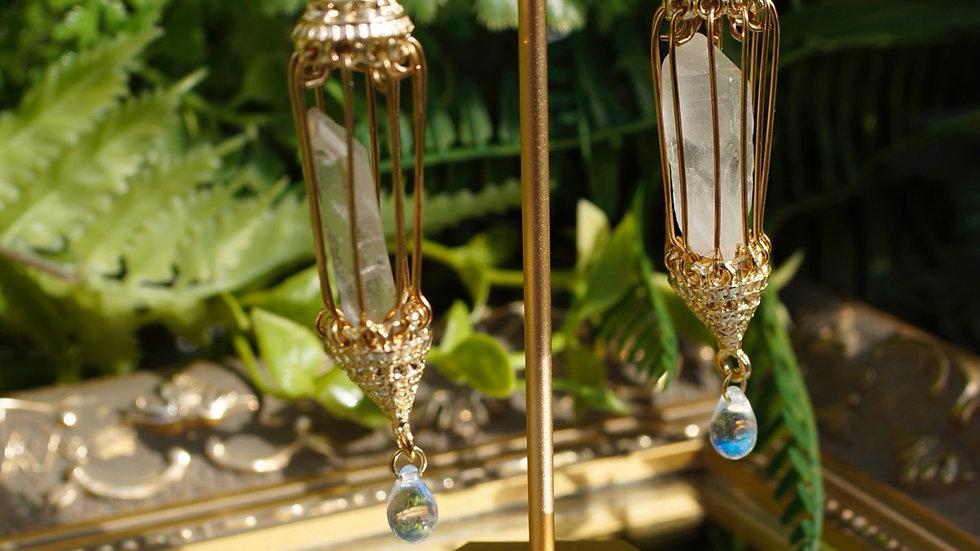 Crystal Chandelier Earrings