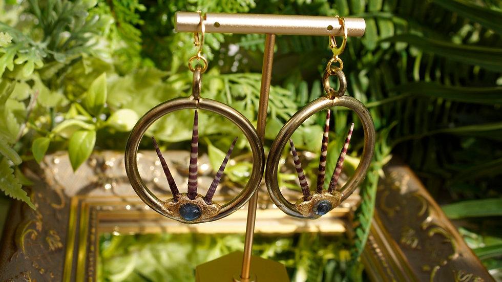 """Poseidon"" Earrings"