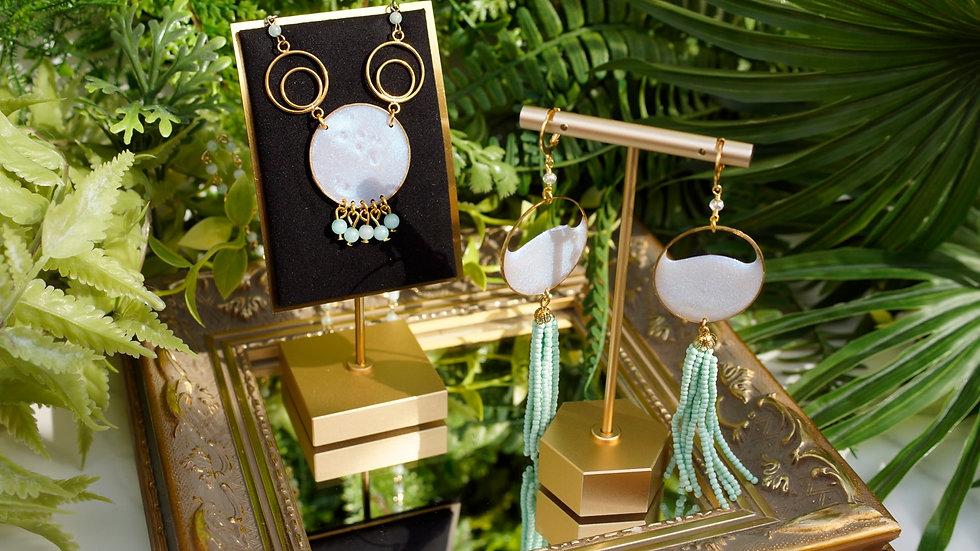 """""""Zodiac"""" Earring and Necklace Set"""