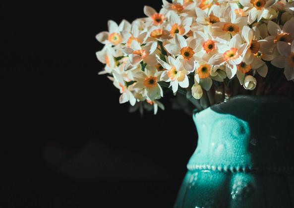 Zierlicher Blumenstrauß