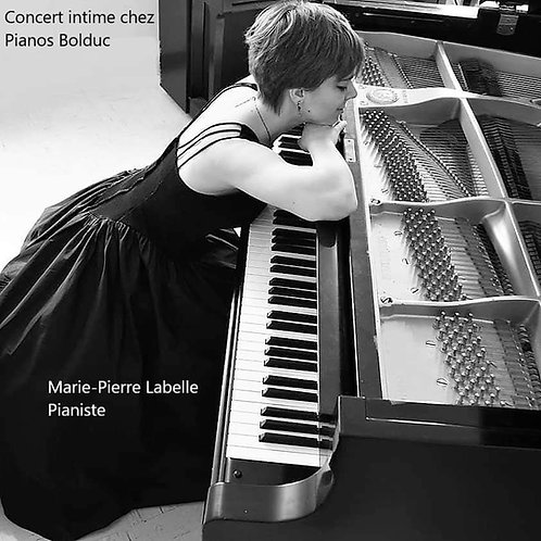 DVD Concert intime chez Pianos Bolduc