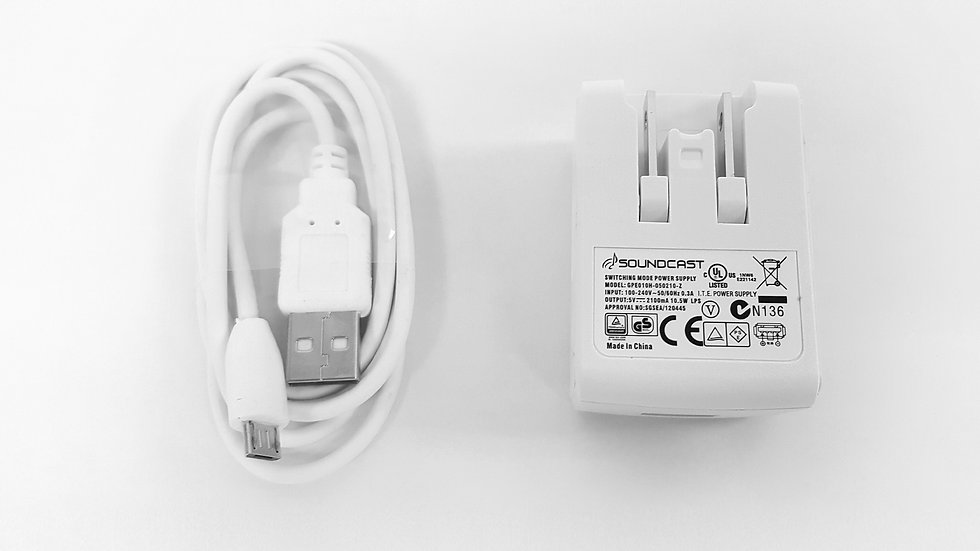 Melody DC power supply + USB Cable