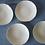 Thumbnail: Assiette creuse en porcelaine D19cm