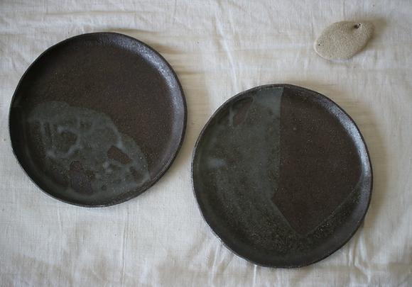 Grande assiette en grès D23cm