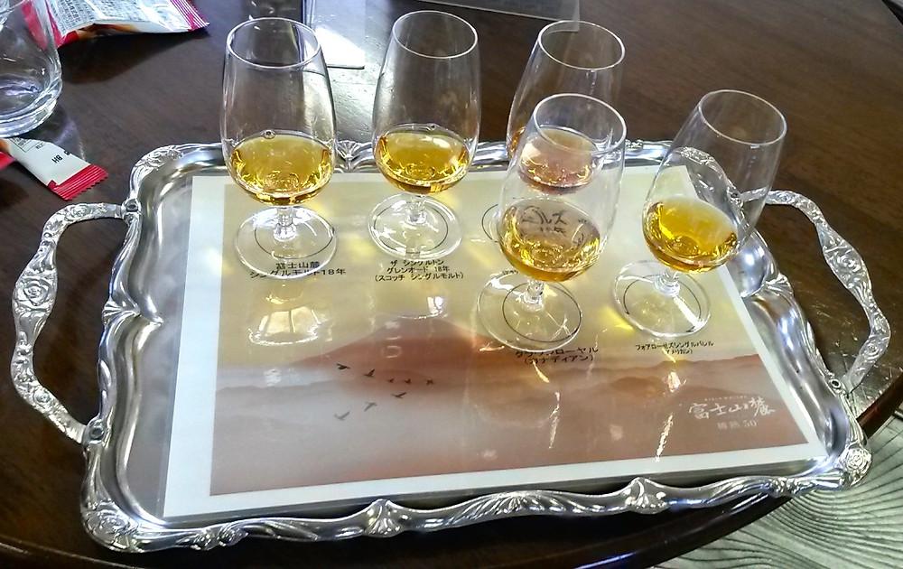 Kirin whisky tasting