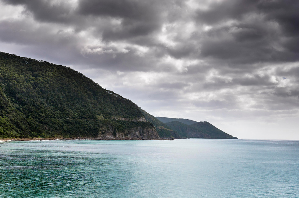 A Brooding Great Ocean Road