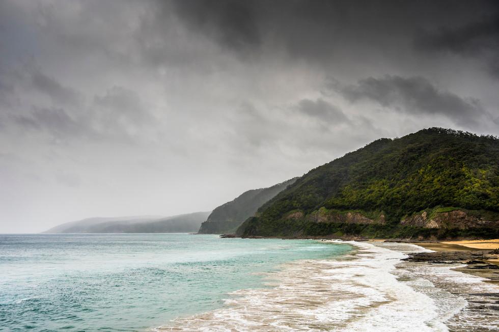 A Moody Great Ocean Road