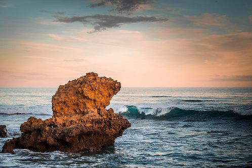 'Sunset Solitude' - Rocky Point, Torquay