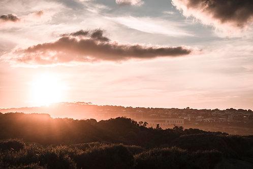 'Sunset over the RACV' - Torquay