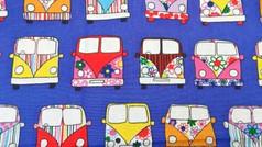 Purple Camper Vans