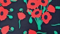 Poppies Black