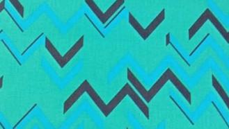 Turquoise Chevrons