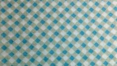 Turquoise Diamond Check