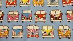 Blue Camper Vans