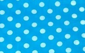Turquoise Polkadot