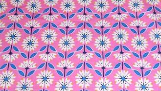 Pink Geometric Flower
